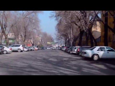 Driving through Almaty, Kazakhstan - Part 2
