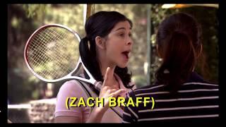 "Sarah Silverman burps ""Zach Braff"""
