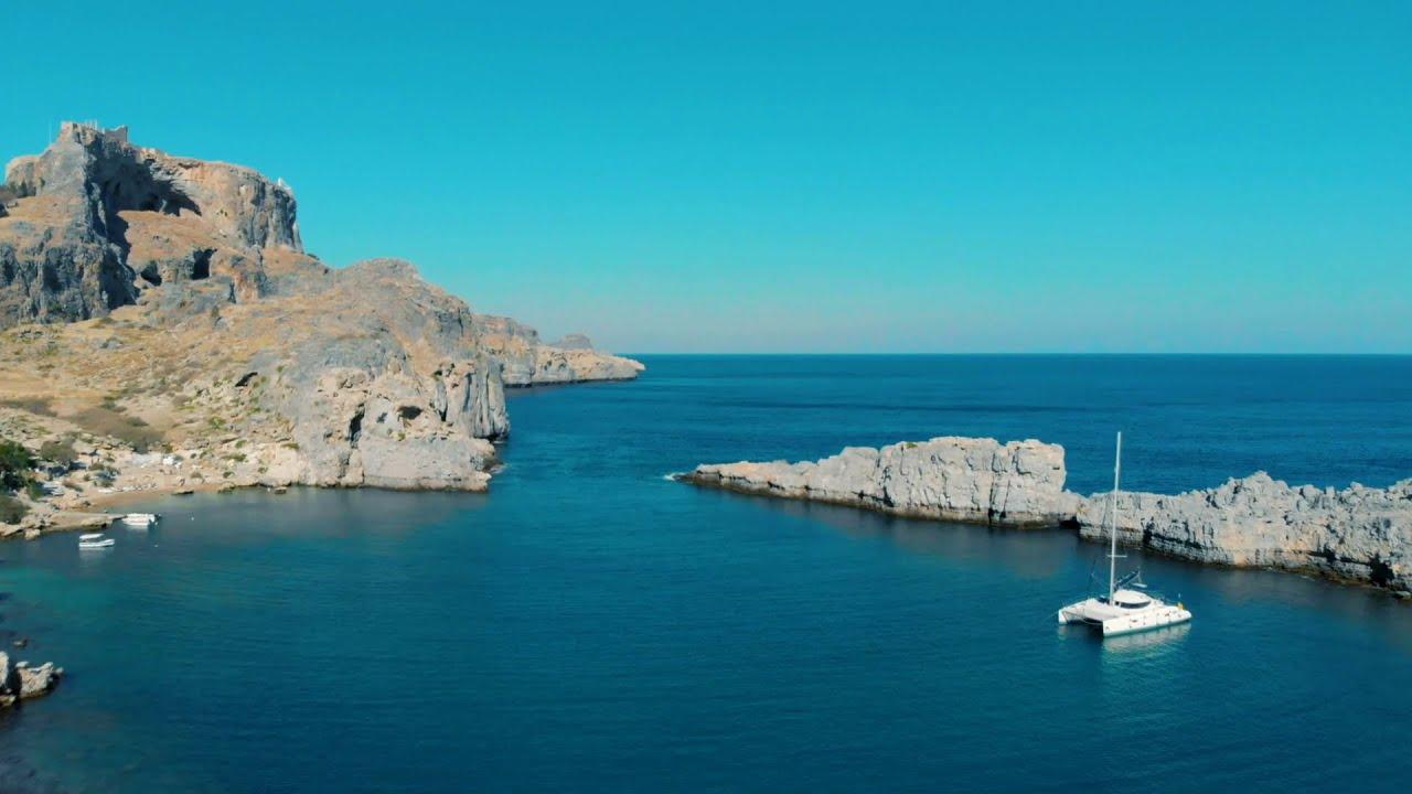 Beautiful Coastlines. Aerial. Ultra HD Video