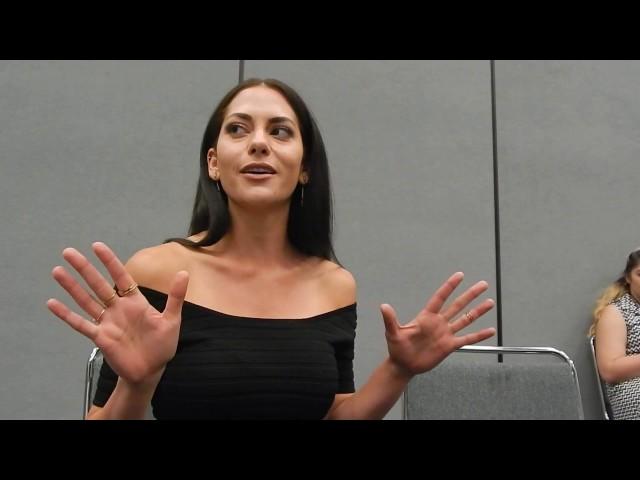 Inbar Lavi (Sheba) talks Prison Break at Wondercon 17