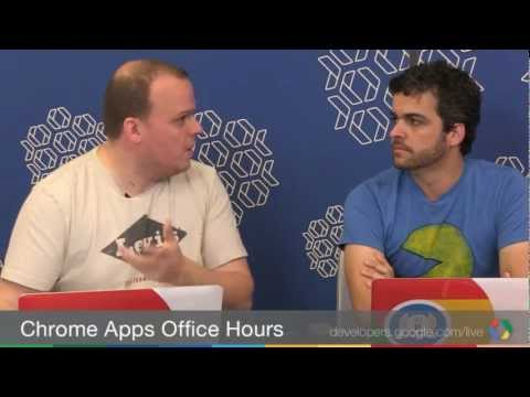 Chrome Apps Office Hours: NodeJS in Chrome packaged apps