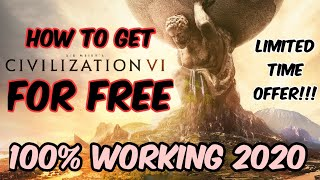 How To Download Civilization Vi For Free 2020 | Epic Games Sale | Sid Meier's Civilization 6