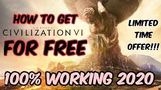 How To Download Civilization Vi For Free 2020 | Epic Games Sale | Sid Meier's Civilization 6