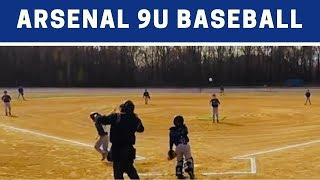 ⚾️ Arsenal vs Force   9U Baseball Highlights