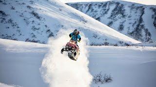 Катапульта на снегоходе RM Vector 551i тайга ВАРЯГ 550 V, русская механика вектор, arctic cat m800