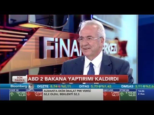 TÜSİAD Yönetim Kurulu Başkanı Erol Bilecik BloombergHT'de Finans Merkezi Programına Konuk Oldu