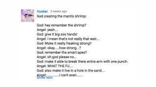 الله يخلق الحيوانات مرة أخرى [كتبه تعليقات يوتيوب]