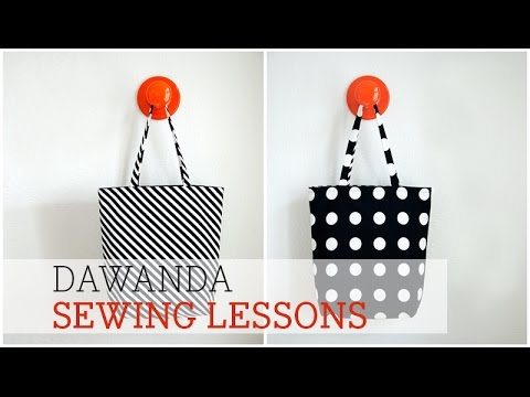 DaWanda Sewing Lessons: Shopperbag with pattydoo