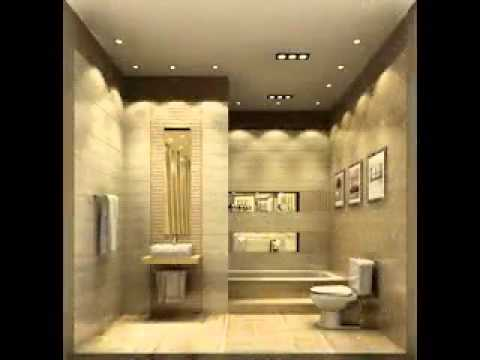 Cool bathroom ceiling ideas youtube for Cool cheap bathroom ideas