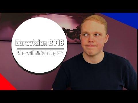 EUROVISION 2018 | Top 5 | ISRAEL, SWEDEN, ESTONIA, NORWAY & ITALY