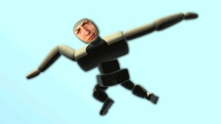 FLY LIKE A BIRD! (Turbo Dismount Funny Moments)