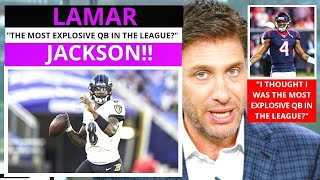 Lamar Jackson (Baltimore Ravens) Most Explosive QB? Get Up Mike Greenberg [Commentary]