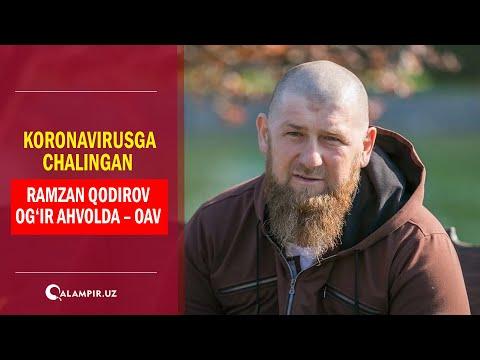 Koronavirusga chalingan Ramzan Qodirov og'ir ahvolda – OAV