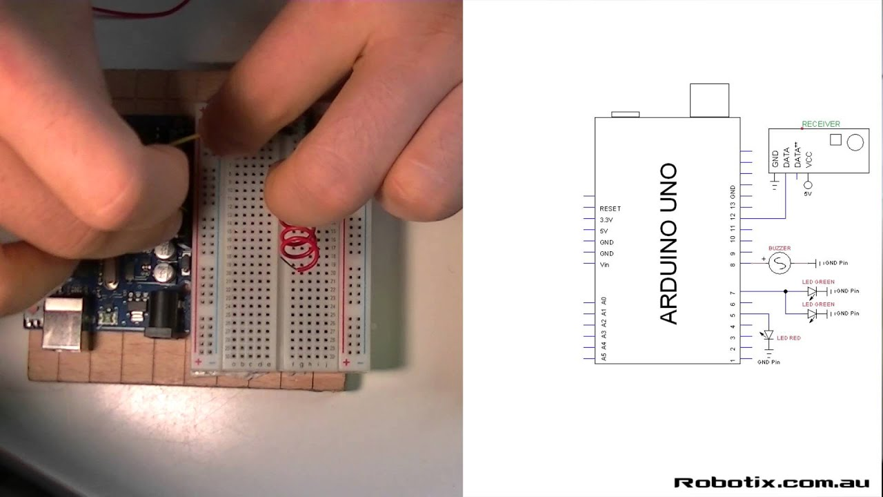 Rf 433mhz Remote Communication Circuit Youtube