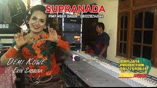 Gambar cover Demi Kowe // voc.Erin Sabrina // Supranada Reborn // Idrisjaya Production