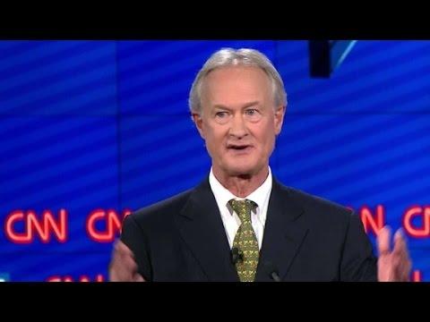 (Democratic Debate) Lincoln Chafee explains Glass-Steagall vote