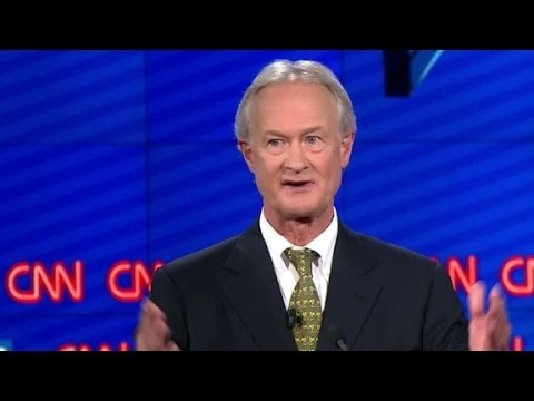 (Democratic Debate) Lincoln Chafee explains Glass-Steagall vote