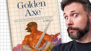 O Master System deu o Sangue para rodar esse Golden Axe - Master System