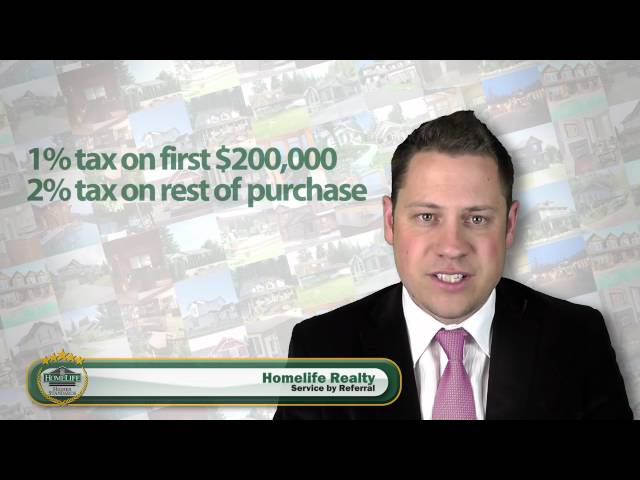 Property Transfer Tax in BC, explained for mortgage financing