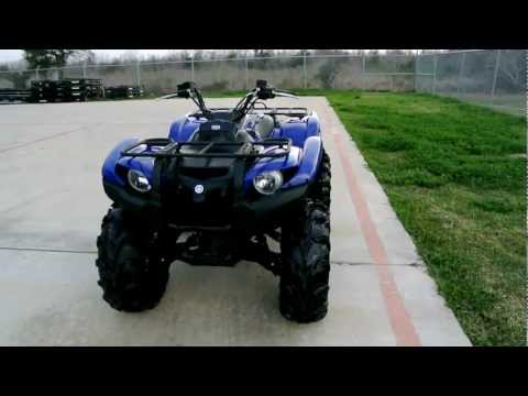 Grizzly 700 vs rincon 680 on command 4wd doovi for Yamaha kodiak 700 top speed