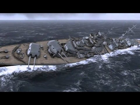 ПОСЛЕДНИЙ БОЙ ЛИНКОРА БИСМАРК в Реалистичной Игре про Корабли Второй Мировой ! Atlantic Fleet