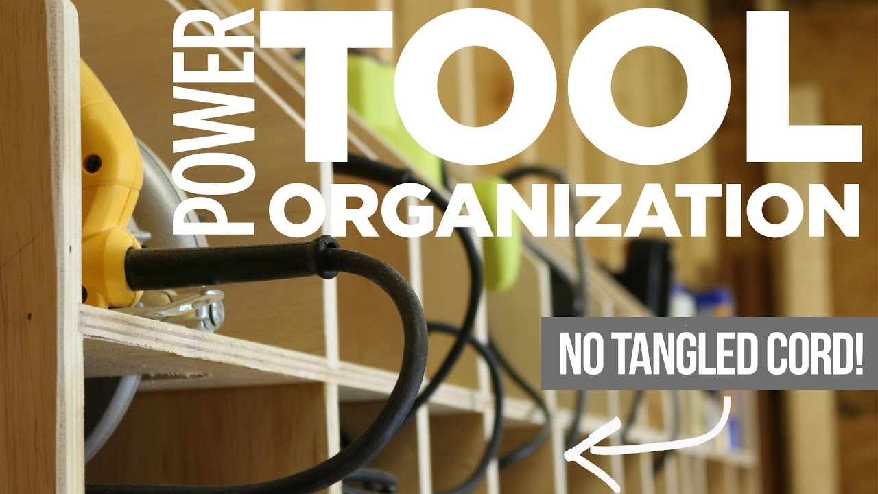diy power tool storage. diy power tool storage