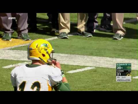 North Dakota State Stuns Iowa