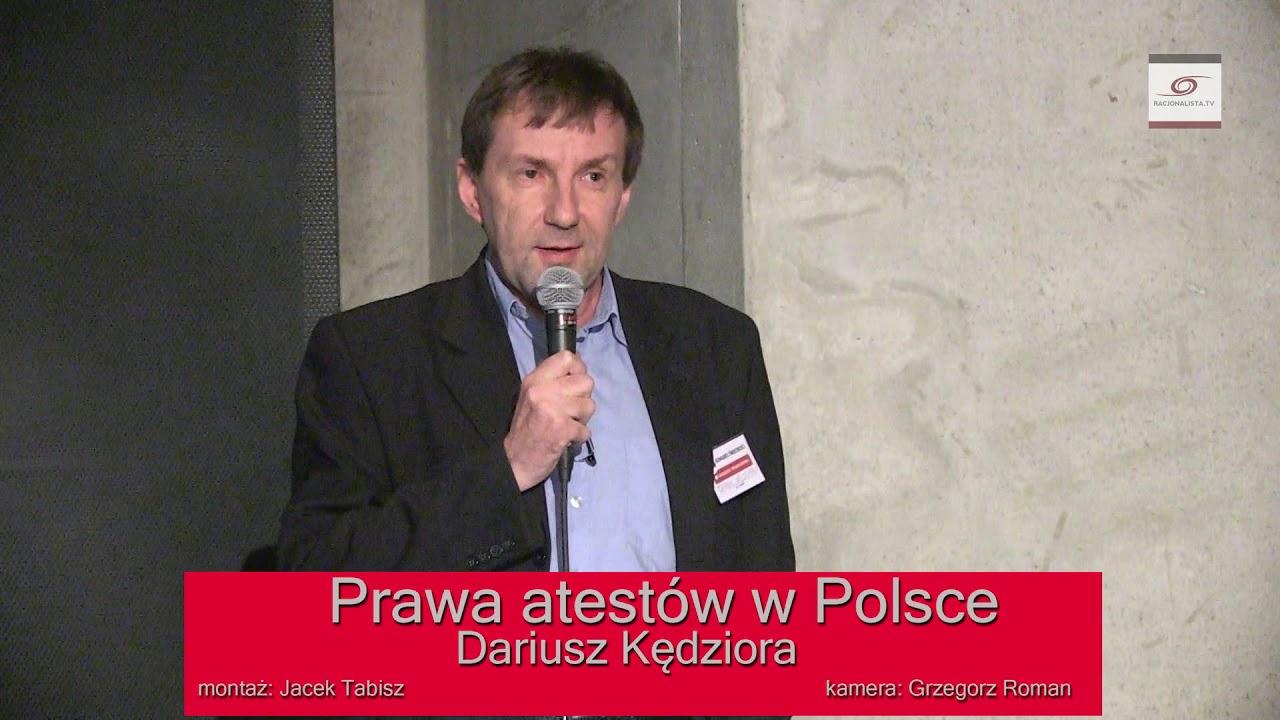 Prawa ateistów w Polsce. Dariusz Kędziora