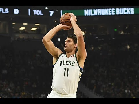 Brook Lopez Is a 7-Foot Sniper   14 Triples in Two Games