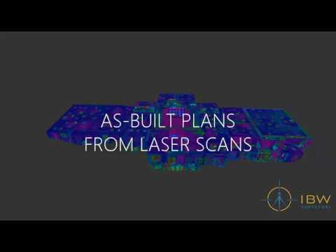 As-Built Plans from 3D Laser Scans - LiDAR