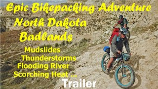 Epic Bikepacking Adventure Video Trailer/bandlands Maah Daah Hey Trail/tips