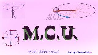 Programa Para Sacar Los Datos de MCU (Movimiento Circular Uniforme)