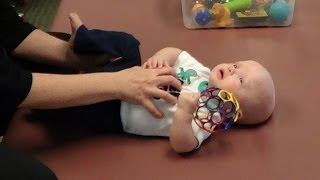 Helping Torticollis with a Movement Lesson