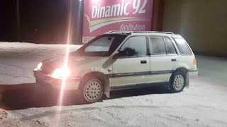 Honda Civic Shuttle 4wd D16  Snow Fun and Donuts 2017