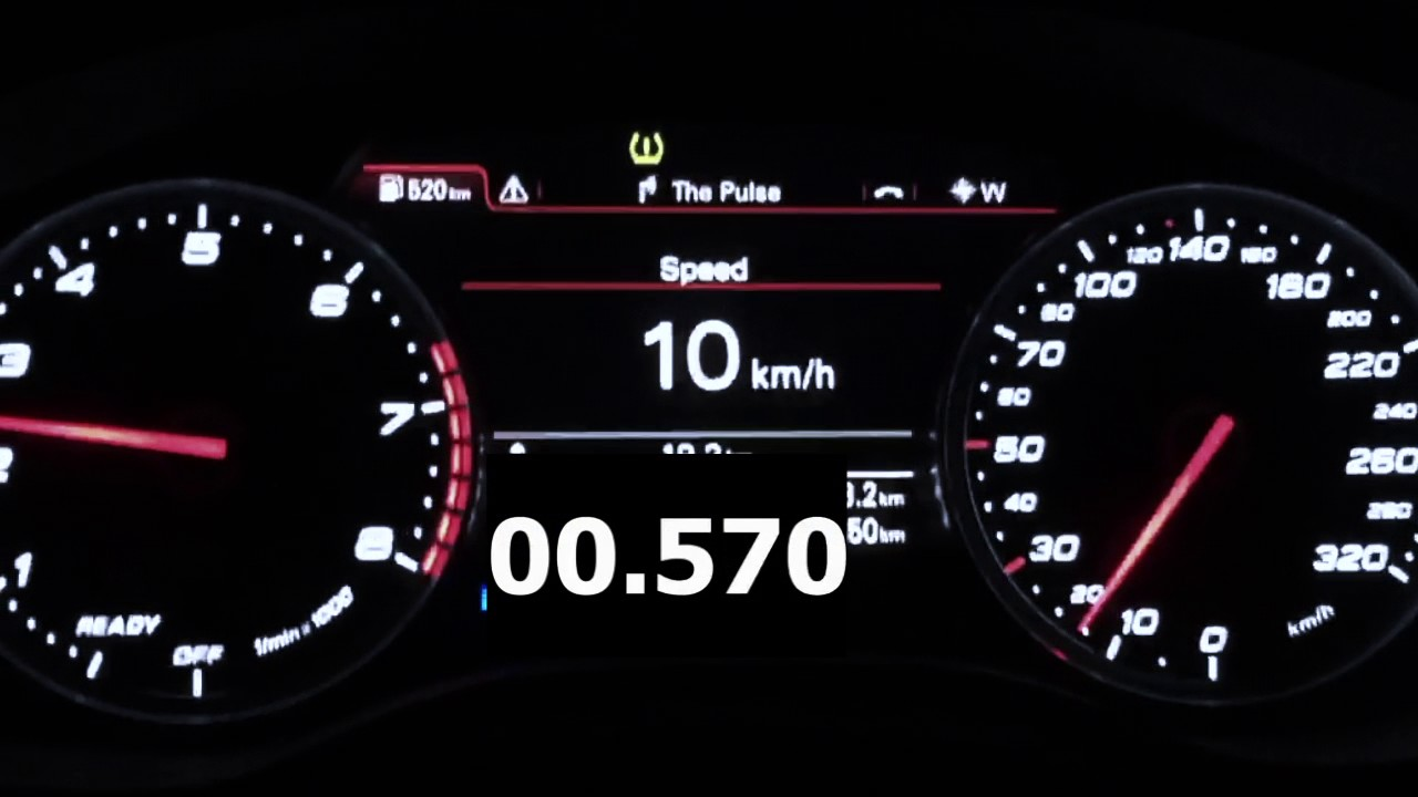 Audi RS Hp Lbft Acceleration YouTube - Audi rs7 0 60