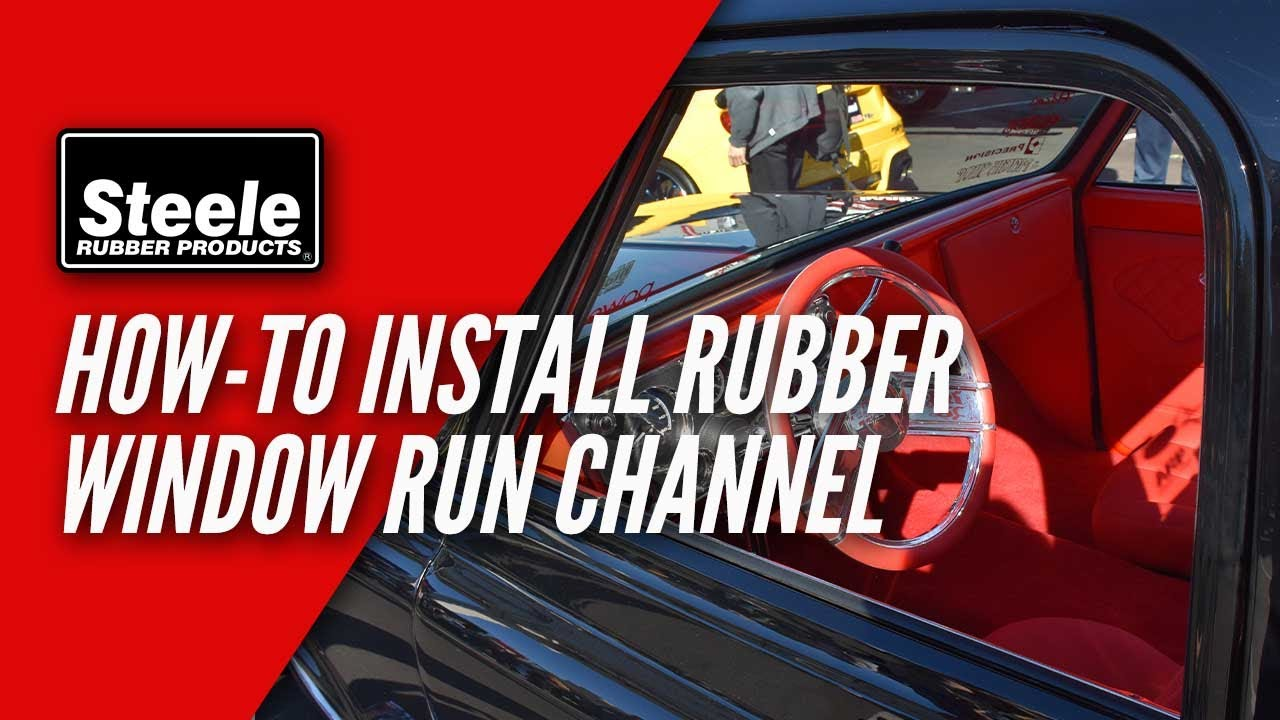 How To Install Window Run Channel For Your Door Glass Youtube