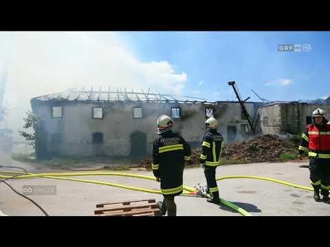 Groseinsatz Bei Bauernhofbrand In Vocklamarkt Orf Oberosterreich Heute