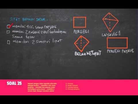 Belajar mengenal sifat-sifat bangun persegi