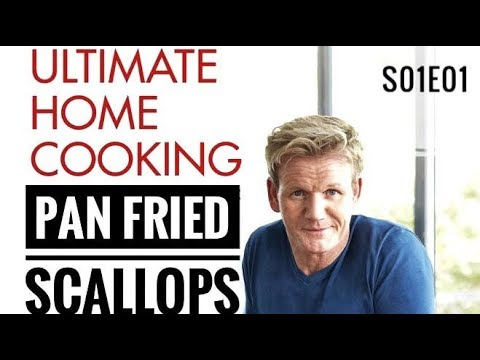 Pan Fried Scallops | Ultimate Cookery season 1 episode | Gordon Ramsay | Almost Anything