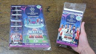 BLISTER PACK & MULTIPACK! Match Attax Champions League 2018/19