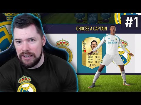DRAFT TO GLORY EPISODE 1!! - #FIFA18 DRAFT TO GLORY #01