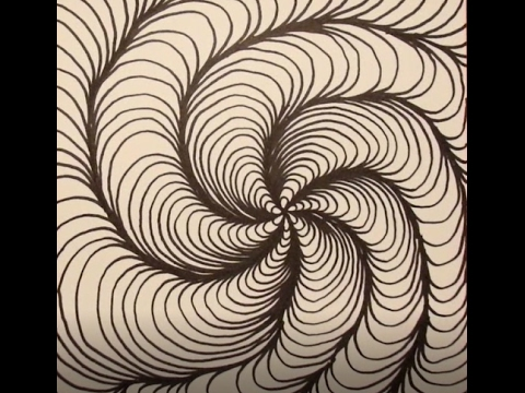 illusion optical illusions op tutorial tutorials drawings mixed drawing artwork colour journal