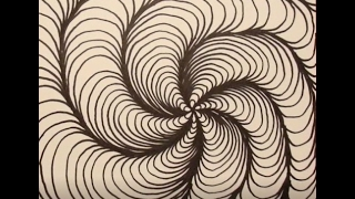 Optical Illusion Art Tutorial #1