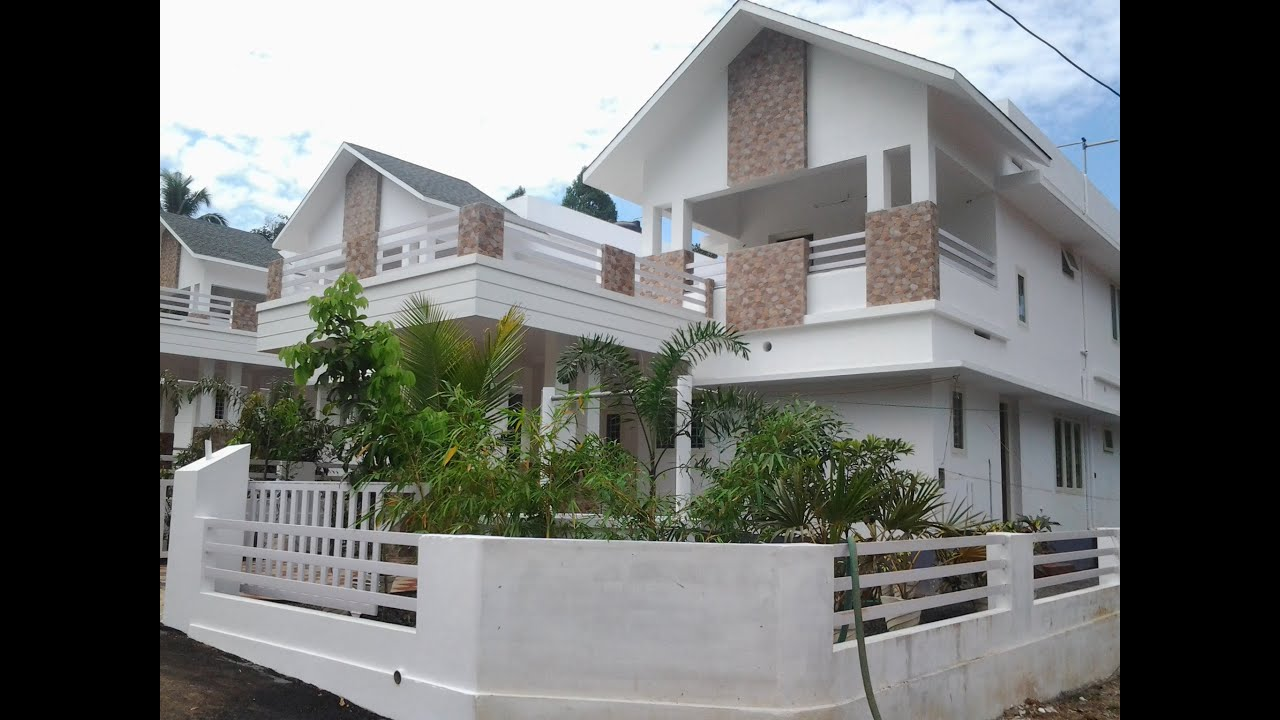 Home Design: Fully Finished Villa For Sale In Kochi, Kerala Near Cochin