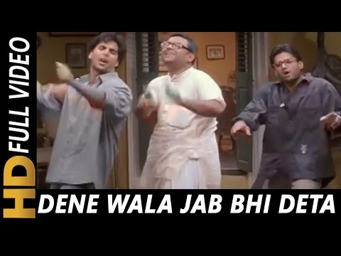 Dene Wala Jab Bhi Deta | Hariharan, Abhijeet | Hera Pheri 2000 Songs | Akshay Kumar | Sunil Shetty