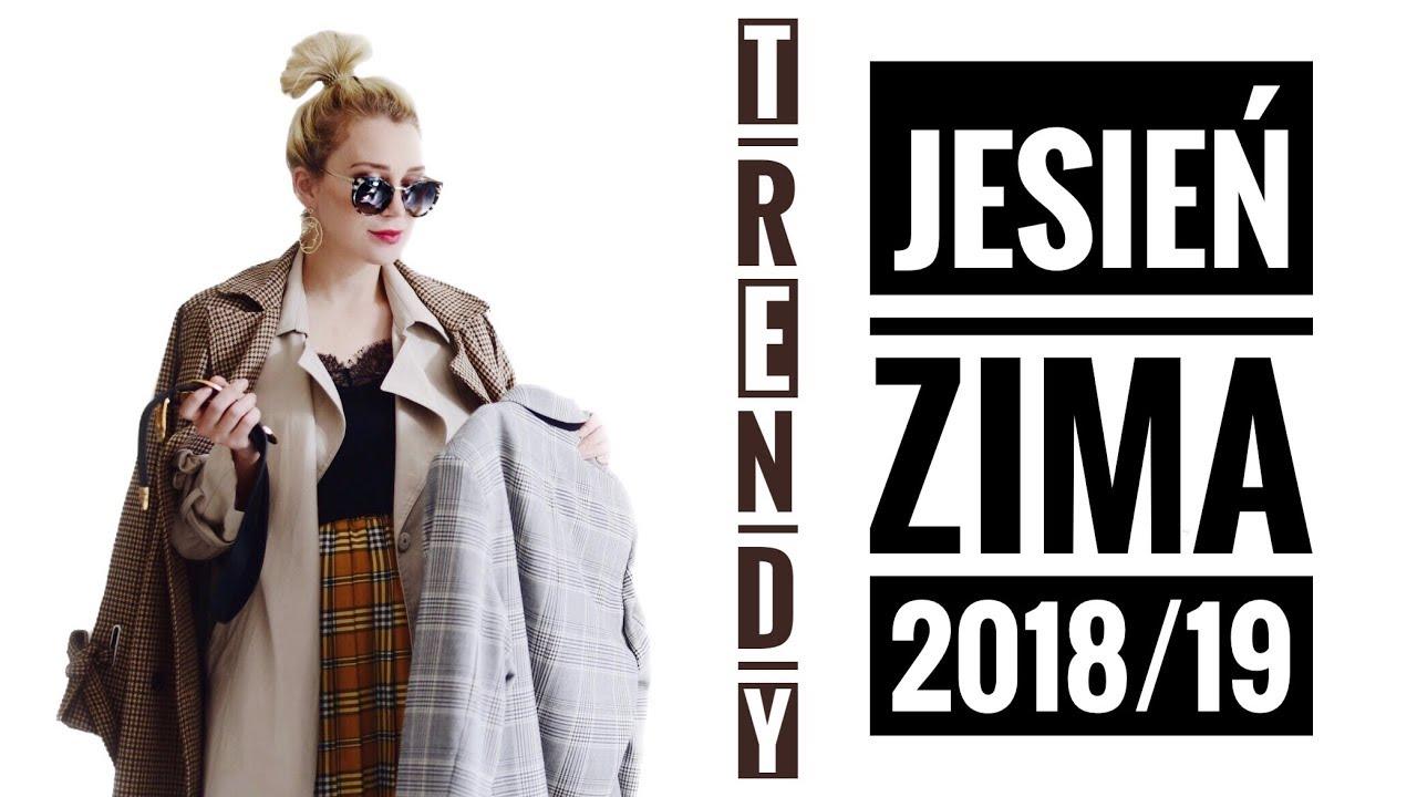 cc0e668029b23 TRENDY JESIEŃ ZIMA 2018/ 19 Co będzie modne? PORADNIK #10 - YouTube