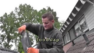 Aanleggen van compleet rookkanaal met houtkachel