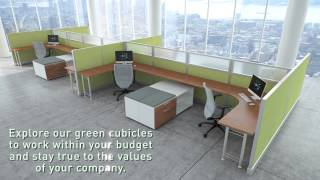 Recycled Office Furniture - Refurbished Workstations