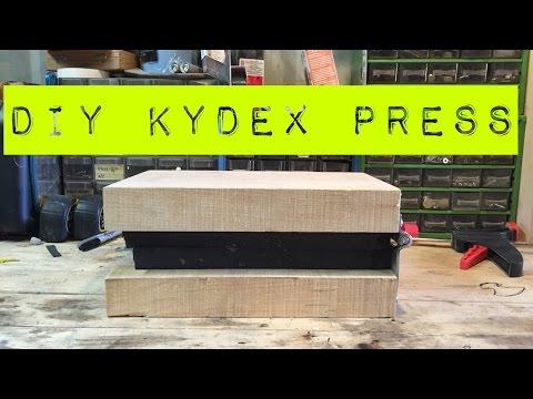 Simple DIY Kydex Press