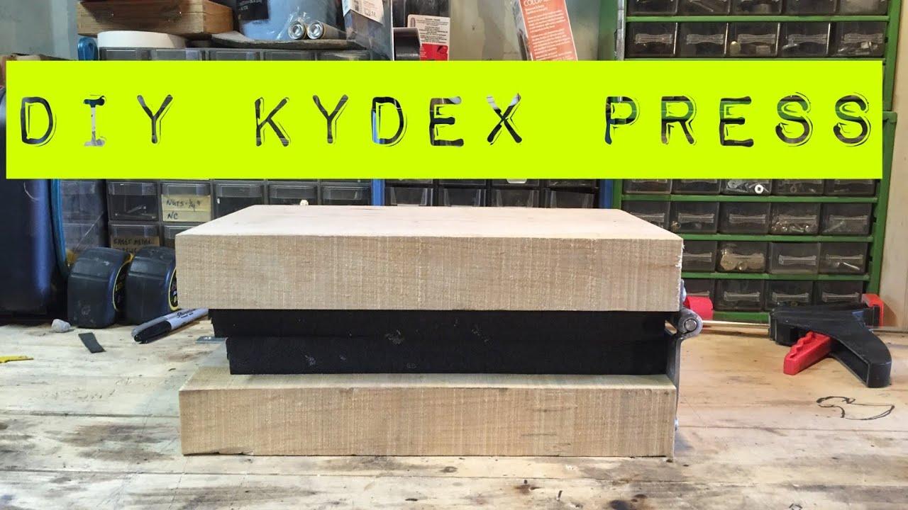 Simple Diy Kydex Press Youtube